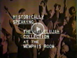 """Video - Historically Speaking: The """"Hallelujah!"""" Collection at the Memphis Room"""