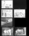 Set of negatives by Clinton Wright including Robert E. Wright, and party for L.T. Mason, 1964