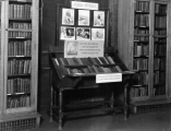 Hough Branch 1926: Carnegie building interior