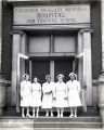 Nurses from the Frederick Douglass Memorial Hospital and Training School