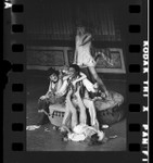 "Paul Winfield and four other actors on stage in ""Threepenny Opera"" in Los Angeles, Calif., 1972"