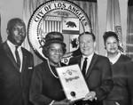 Mayor proclaims Negro history week