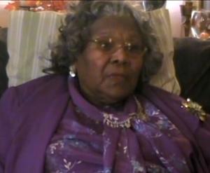 Hattie Mae Sibley, November 2010