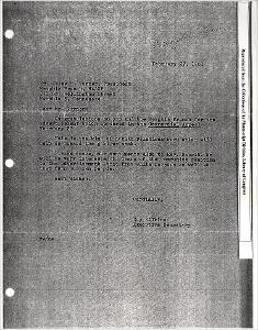 Letter from Roy Wilkins, Executive Secretary, to Mr. Jesse H. Turner, President Memphis Branch NAACP