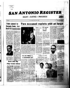San Antonio Register (San Antonio, Tex.), Vol. 49, No. 2, Ed. 1 Thursday, April 10, 1980 San Antonio Register