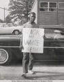 Civil Rights Protester at Arkansas AM&N College