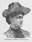 Josephine Turpin Washington; Educator and writer