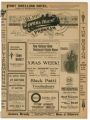 """Brown's In Town"" theater program, Bijou Opera House, Minneapolis, Minnesota"