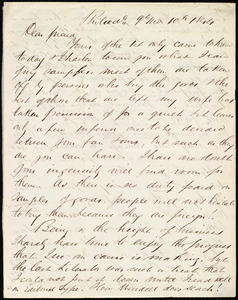 Letter from Edward Morris Davis, Philad[elphia], [Penn.], to Maria Weston Chapman, 9th mo[nth] 10th [day] 1844