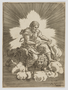 Saint Mark, seated on a Lion