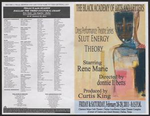 Program: Dress Performance Theatre Series