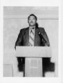 Gordan Rowe at the Third Annual BAN-WYS Conference. Hotel Sonesta Washington D.C. 1970.