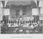 College choir, Fisk University
