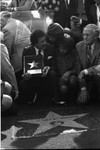 Smokey Robinson receiving his star on the Hollywood Walk of Fame, Los Angeles, 1983