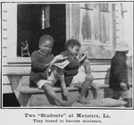 "Two ""students"" at Mansura, La.; They intend to become ministers"
