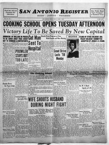 San Antonio Register (San Antonio, Tex.), Vol. 3, No. 1, Ed. 1 Friday, April 7, 1933 San Antonio Register