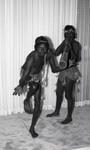 Aboriginal dance troupe performing, Los Angeles, 1984
