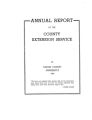 Annual Report of the County Extension Service in Dodge County Minnesota 1948