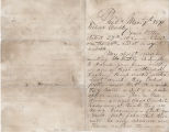 Letter of 1879 March 7