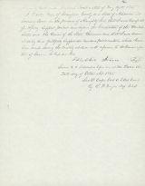 Confederate Amnesty Oath, Walter Fine, 1865; Confederate Amnesty Oath, Walter Fire, 1865