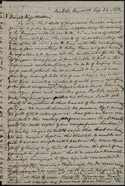 Letter to] Dearest Miss Weston [manuscript