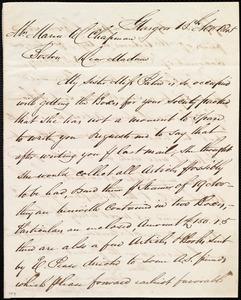 Letter from Andrew Paton, Glasgow, [Scotland], to Maria Weston Chapman, 15th Nov. 1845