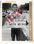 We won't go to school with Negroes