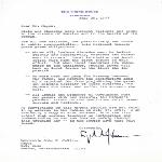 Letter to Mayor John Collins from President Lyndon B. Johnson
