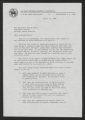 Letter: Reverend George G. Higgins to Gov. Dan K. Moore, April 11, 1968