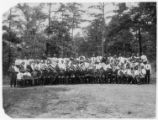 Colored Work Dept. Student leaders, Kings Mountain Student Conference, 1913.