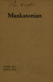The Mankatonian, Volume 19, Issue 7, April 1907