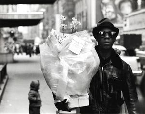 Flower Messenger, Times Square