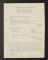 Subject Files. Commission on Interracial Cooperation: Financial records, 1921-1922. (Box 10, Folder 1).