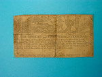 1 2/3 Dollars, Maryland, 1775