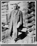 Colored beneficiary of Red Cross in the Ozark foothills, near Damascus, Arkansas