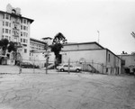 Ambassador Hotel, convention wing and loading area