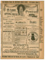 """A Boy Wanted"" theater program, Bijou Opera House, Minneapolis, Minnesota"