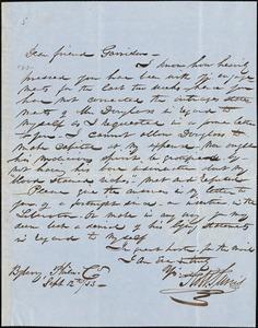 Letter from Robert Purvis, Philadelphia, [Pennsylvania], to William Lloyd Garrison, [18]53 Sept[ember] 12th