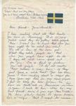 "Solveig to ""Dear friend - James Meredith"" (Undated)"