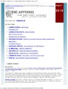 Appendix. Official Organ of the Health Sciences Library. August, 2010, The