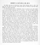 H. R. Butler, A. M., M. D. [verso]