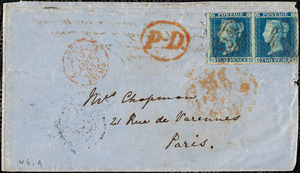 Letter from Louis Alexis Chamerovzow, London, [England], to John Bishop Estlin, 1855 Feb[ruary] 6