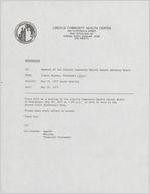 Box EO-16, Folder 5: Lincoln Community Health Center, May 1977-Feb. 1979