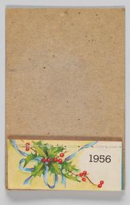 Calendar from 1956