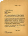 1960-11-17 Correspondence