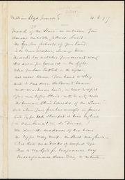 Letter to] Friend of the Slave [manuscript