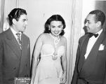 Lena Horne, George Auld, and Horace Henderson