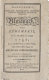 Banneker's Maryland, Pennsylvania, Delaware, Virginia, Kentucky, and North Carolina almanack and ephemeris, for the year of our Lord 1796; being bissextile, or leap-year; the twentieth year of American independence, and eighth year of the federal government