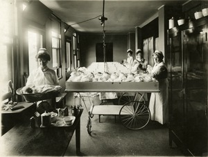 Nurses in the Maternity Ward