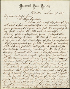 Letter from Alfred Harry Love, Philad[elphi]a, [Pa.], to William Lloyd Garrison, [April] 27. 1867
